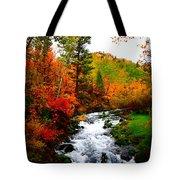 Autumn Creek Tote Bag
