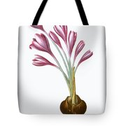 Autumn Crocus Tote Bag