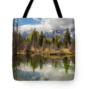 Autumn Day At Schwabacher's Landing Tote Bag