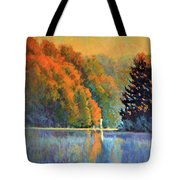Autumn Day Rising Tote Bag