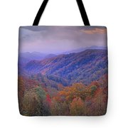 Autumn Deciduous Forest Great Smoky Tote Bag