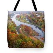 Autumn Down Below Tote Bag
