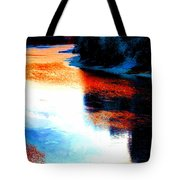 Autumn Down By The River Tote Bag