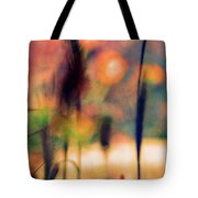 Autumn Dreams Abstract Tote Bag