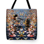 Autumn Ducks Tote Bag