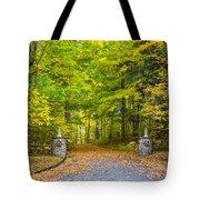 Autumn Entrance 3 Tote Bag