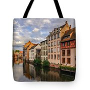 Autumn Evening In Petite France Tote Bag by Dmytro Korol