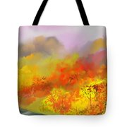 Autumn Expression Tote Bag