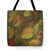 Autumn Falling Tote Bag