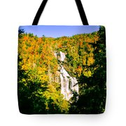 Autumn Falls Tote Bag by Tom Zukauskas
