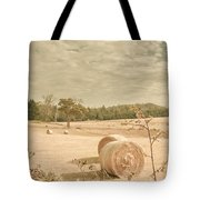 Autumn Farming And Agriculture Landscape Tote Bag