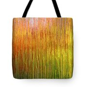 Autumn Fire Abstract Tote Bag
