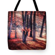 Autumn Firelight Tote Bag