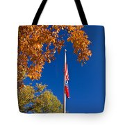 Autumn Flag Tote Bag
