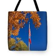 Autumn Flag Tote Bag