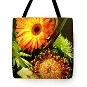 Autumn Flower Arrangement Tote Bag