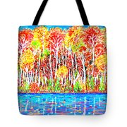 Autumn Foliage Tote Bag