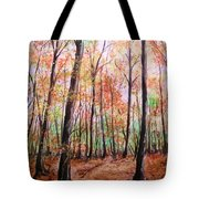 Autumn Forrest Tote Bag