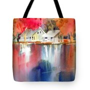 Autumn, Fox River Tote Bag