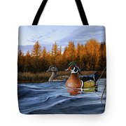 Autumn Front Tote Bag
