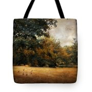 Autumn Geese Tote Bag