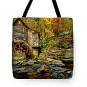 Autumn Glade Creek Grist Mill  Tote Bag