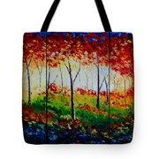 Autumn Glade Tote Bag