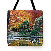 Autumn Glow In Manito Park Tote Bag