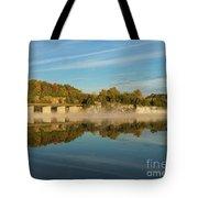 Autumn Glow Lake Springfield Tote Bag