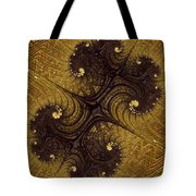 Autumn Glows In Gold Tote Bag