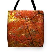 Autumn Gold Poster Tote Bag
