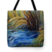 Autumn Grasses Tote Bag