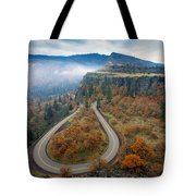 Autumn Hairpin Turn Tote Bag