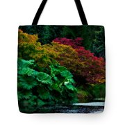 Autumn Has Begun Tote Bag