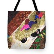 Autumn Hayride Tote Bag