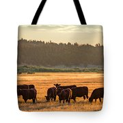 Autumn Herd Tote Bag