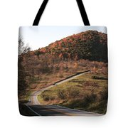 Autumn Hill Near Hancock Maryland Tote Bag