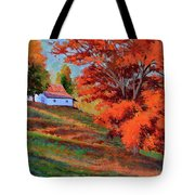 Autumn Hillside Tote Bag