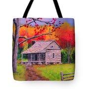 Autumn Home Tote Bag