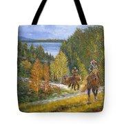 Autumn In Big Bear, 18x24, Oil, '08 Tote Bag