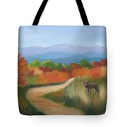 Autumn In Blue Ridge Mountains Virginia Tote Bag
