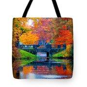 Autumn In Boston Tote Bag