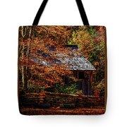Autumn In Cades Cove Smnp Tote Bag