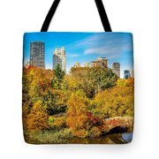 Autumn In Central Park 2 Tote Bag