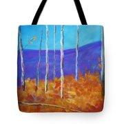 Autumn In Cloudcroft Tote Bag