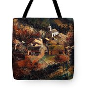Autumn In Frahan Tote Bag