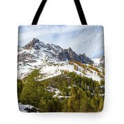 Autumn In French Alps - 18 Tote Bag