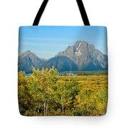 Autumn In Grand Teton National Park Tote Bag