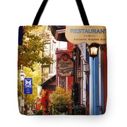 Autumn In Jim Thorpe Tote Bag