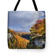 Autumn In Letchworth Tote Bag
